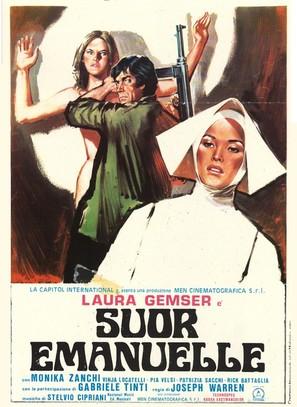Suor Emanuelle - Italian Movie Poster (thumbnail)