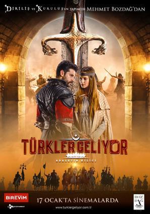 Türkler Geliyor: Adaletin Kilici - Turkish Movie Poster (thumbnail)