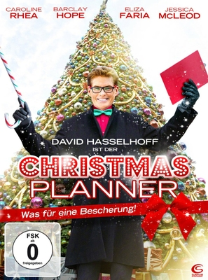 The Christmas Consultant - German DVD movie cover (thumbnail)