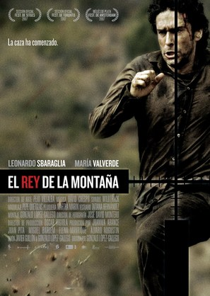 El rey de la montaña - Spanish Movie Poster (thumbnail)