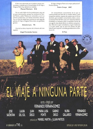Viaje a ninguna parte, El - Spanish Movie Poster (thumbnail)