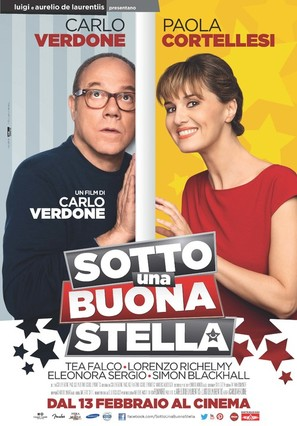 Sotto una buona stella - Italian Movie Poster (thumbnail)