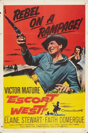 Escort West - Movie Poster (thumbnail)