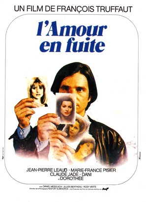 L'amour en fuite - French Movie Poster (thumbnail)