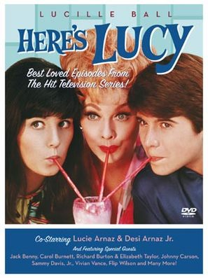 """Here's Lucy"" - DVD movie cover (thumbnail)"