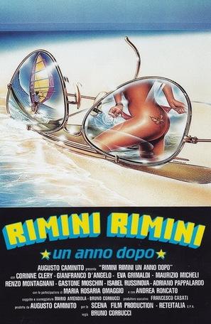 Rimini Rimini - Un anno dopo - Italian Movie Poster (thumbnail)