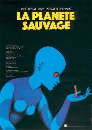 La planète sauvage - French Movie Poster (thumbnail)