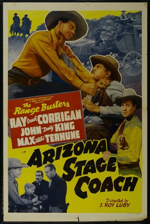 Arizona Stage Coach - Movie Poster (thumbnail)