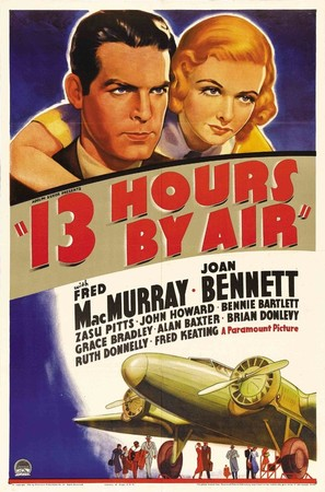 Thirteen Hours by Air - Movie Poster (thumbnail)