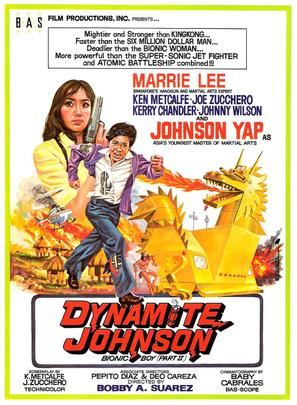 Dynamite Johnson - Movie Poster (thumbnail)