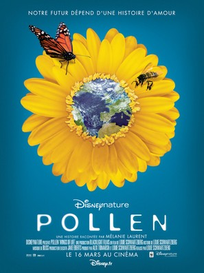 Pollen - French Movie Poster (thumbnail)