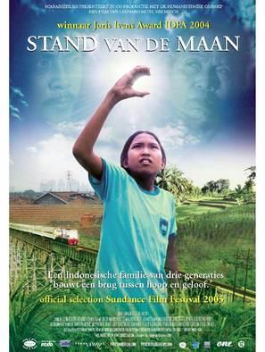 Stand van de maan - Dutch Movie Poster (thumbnail)
