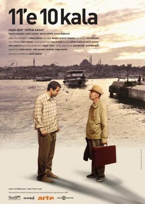 11'e 10 kala - Turkish Movie Poster (thumbnail)