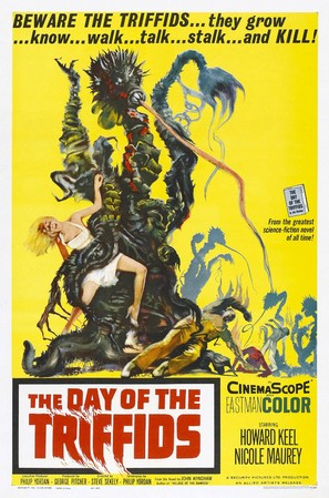 The Day of the Triffids - Theatrical poster (thumbnail)