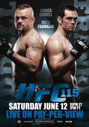 UFC 115: Liddell vs. Franklin - Movie Poster (thumbnail)