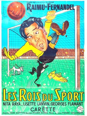 Rois du sport, Les - French Movie Poster (thumbnail)