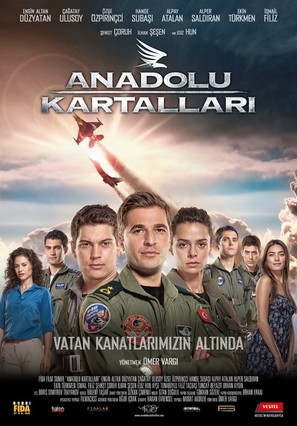 Anadolu Kartallari - Turkish Movie Poster (thumbnail)