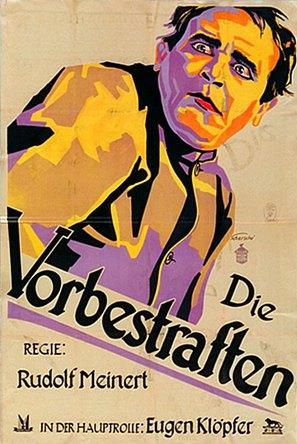 Vorbestraften, Die - German Movie Poster (thumbnail)