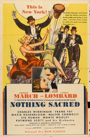 Nothing Sacred - Re-release movie poster (thumbnail)