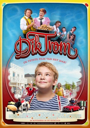 Dik Trom - Dutch Movie Poster (thumbnail)