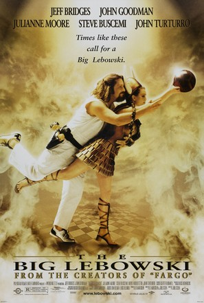 The Big Lebowski - Theatrical poster (thumbnail)