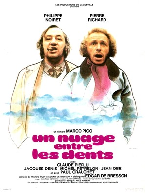 Un nuage entre les dents - French Movie Poster (thumbnail)