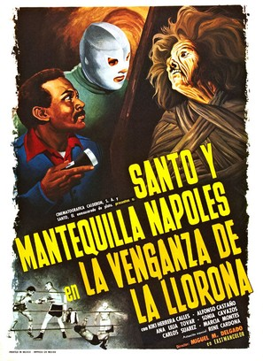 La venganza de la llorona - Mexican Movie Poster (thumbnail)