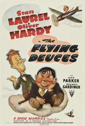 The Flying Deuces - Movie Poster (thumbnail)