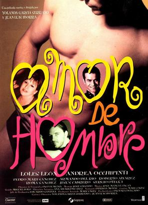 Amor de hombre - Spanish Movie Poster (thumbnail)