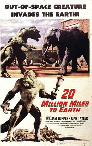 20 Million Miles to Earth - Movie Poster (thumbnail)