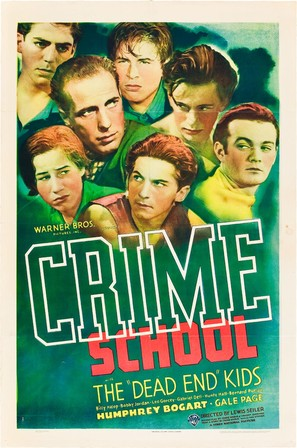 Crime School - Theatrical poster (thumbnail)