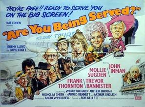 Are You Being Served? - British Movie Poster (thumbnail)