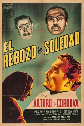 El rebozo de Soledad - Argentinian Movie Poster (thumbnail)