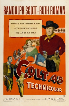 Colt .45 - Movie Poster (thumbnail)