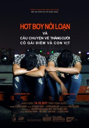 Hot boy noi loan - cau chuyen ve thang cuoi, co gai diem va con vit - Vietnamese Movie Poster (thumbnail)