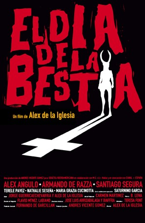 El día de la bestia - Spanish Movie Poster (thumbnail)