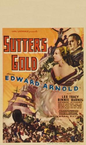 Sutter's Gold - Movie Poster (thumbnail)