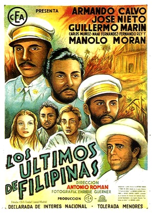 Los últimos de Filipinas - Spanish Movie Poster (thumbnail)
