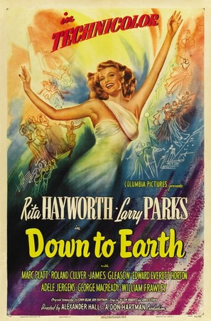 Down to Earth - Movie Poster (thumbnail)