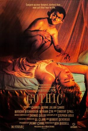 Gothic - Movie Poster (thumbnail)
