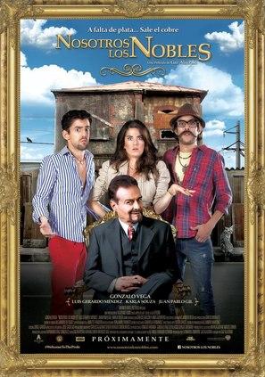 Nosotros los Nobles - Mexican Movie Poster (thumbnail)