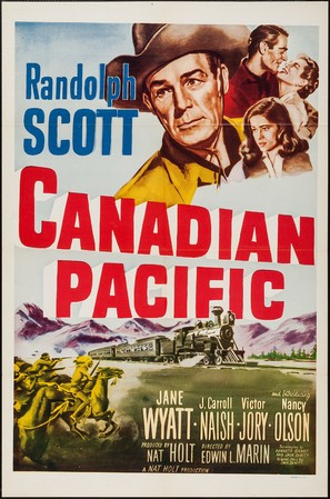 Canadian Pacific - Movie Poster (thumbnail)