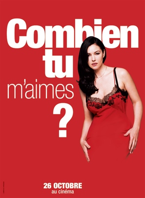 Combien tu m'aimes? - French Movie Poster (thumbnail)
