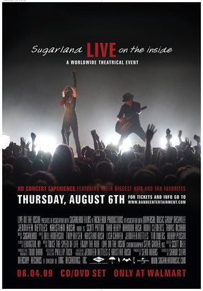 Sugarland: Live on the Inside - Movie Poster (thumbnail)