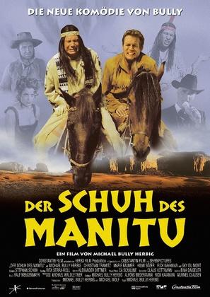 Der Schuh des Manitu - German Movie Poster (thumbnail)