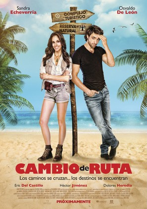 Cambio de Ruta - Mexican Movie Poster (thumbnail)