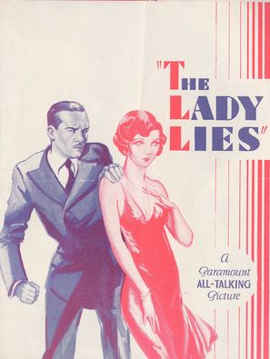 The Lady Lies - poster (thumbnail)
