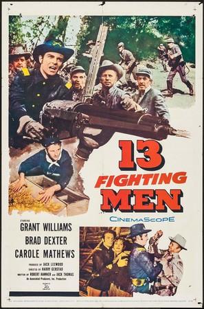 13 Fighting Men - Movie Poster (thumbnail)