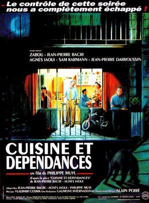 Cuisine et dépendances - French Movie Poster (thumbnail)