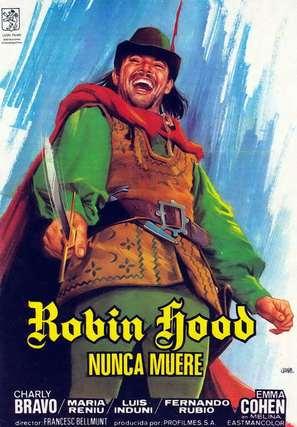 Robin Hood nunca muere - Spanish Movie Poster (thumbnail)